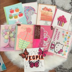 Accessories - NWT PAPYRUS BIRTHDAY CARD COLLECTION x8